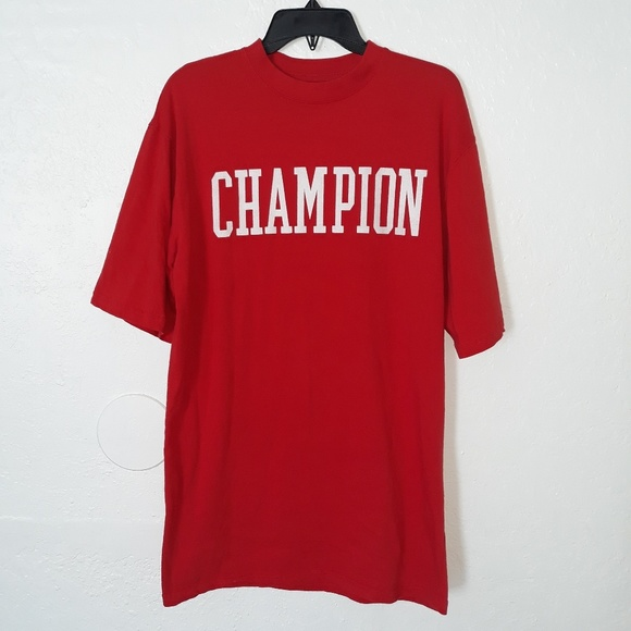 Champion Other - Champion Red Athletic Logo Shirt